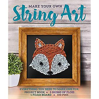 Make Your Own String Art by Kayla Carlson - 9781684127894 Book
