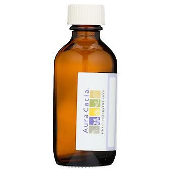Aura cacia empty amber glass bottle, 2 oz, 1 ea