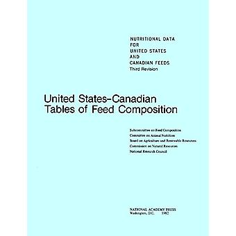 United States-Canadian Tables of Feed Composition - Nutritional Data f