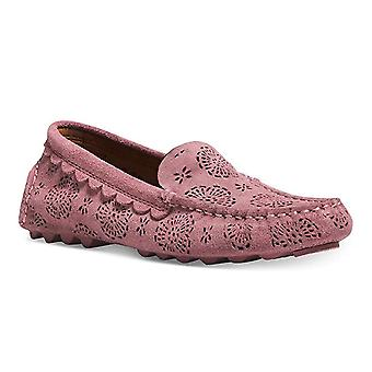 Coach Womens Crosby Driver Leather Closed Toe Loafers