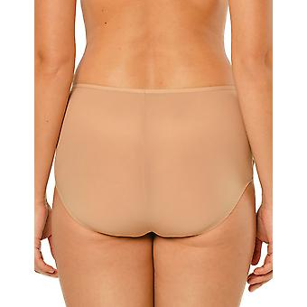 Louisa Bracq 47450 Women's Jodie Nude Beige Knickers Panty Full Brief
