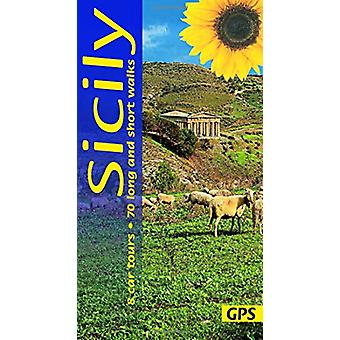 Sicily - 8 car tours - 70 long and short walks with GPS by Peter Amann