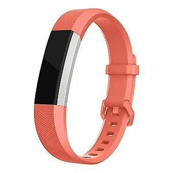 "Replacement Strap Silicone Band Bracelet for Fitbit Ace Kids / Alta / Alta HR[Small Fits Wrist 5.5"" - 6.9"",Orange]"