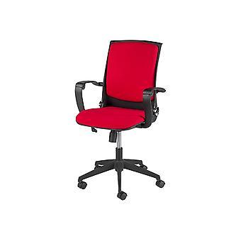 Eagle Färg Svart Stol, Röd PP, Tyg 62x62.5x106 cm