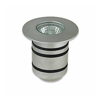 Gea, Gu4, Aluminum And Glass Recessed Spotlight