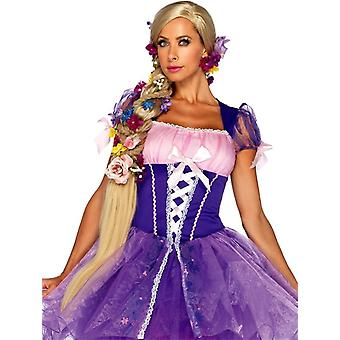 Aikuiset blondi peruukki-Rapunzel