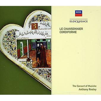 Consort of Musicke - Le Chansonnier Cordiforme [CD] USA import