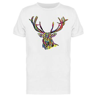 Deer With Big Horns Tee Men-apos;s -Image par Shutterstock
