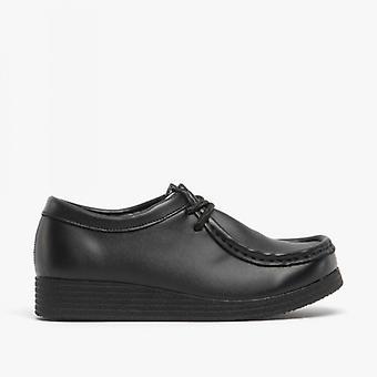 Route 21 Jace Jr Boys Lace-up School schoenen zwart