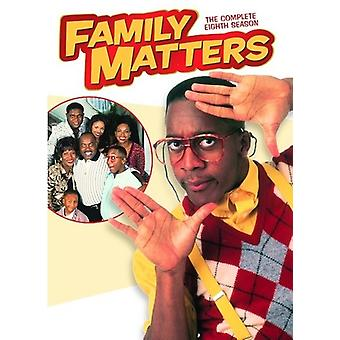 Family Matters: Complete Eighth Season [DVD] USA import