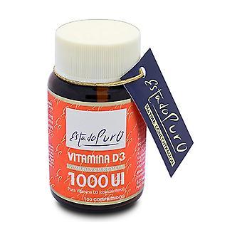 Vitamin D3 1000Ui 100 tablets (1000UI)