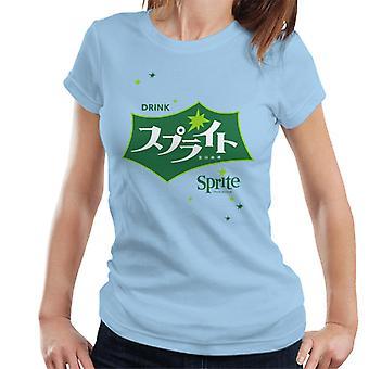 Drink Sprite Retro Japanese Logo Women's T-Shirt