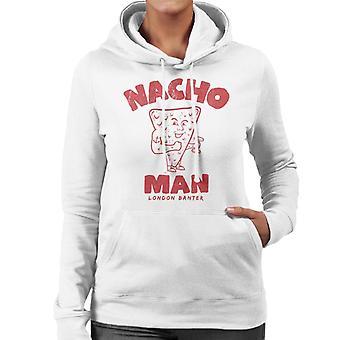 London Banter Nacho homem mulheres ' s camisola com capuz