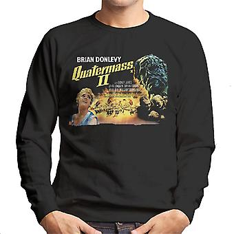 Hammer Horror Films Quatermass 2 Movie Poster Men's Sweatshirt