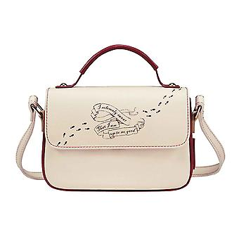 Harry Potter Satchel Bag Marauders Map Logo new Official White