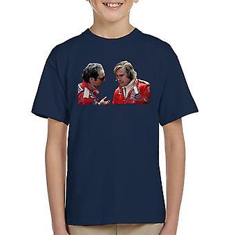 Motorsport Images Niki Lauda & James Hunt Monaco GP 1976 Kid's T-Shirt