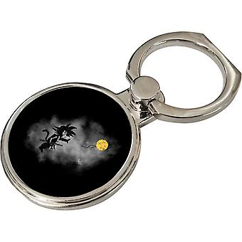 Saiyan With Balloon Banksy Dragon Ball Z Phone Ring