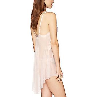 العلامة التجارية - ماي المرأة & apos;ق لاسي بيبيدول وثاونغ مجموعة, لينة الوردي, X-الصغيرة