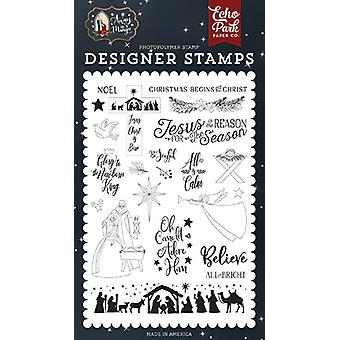 Echo Park All is Calm Clear Stamps