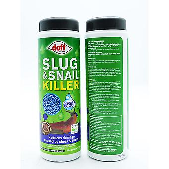 Doff Slug & Snail Killer Blue Pellets Showerproof 2x170g