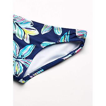 Kanu Surf Big Girls' Long Sleeve Rashguard Two Piece Swim Set, Charlotte Navy...