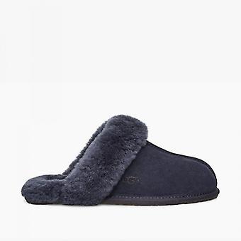 UGG Scuffette Ii Ladies Suede Mule Slippers True Navy
