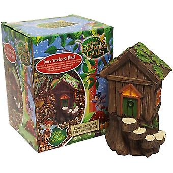The Faries Enchanted Garden Fairy Treehouse Hotel Garden Decoration