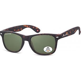 Sunglasses Unisex by SGB Brown/Green Turtle (MP1-XL)