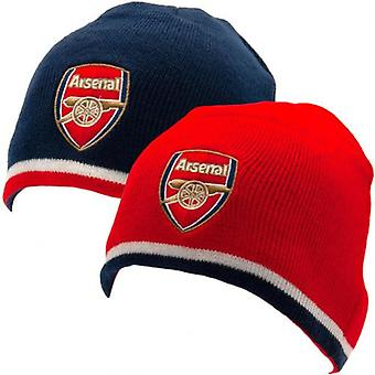 Arsenal Reversible Knitted Hat