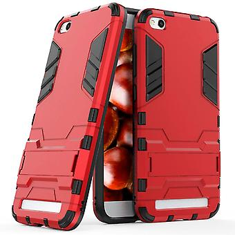Shell for Xiaomi Redmi 5A Space Armor Red Hard Plastic Protection Case