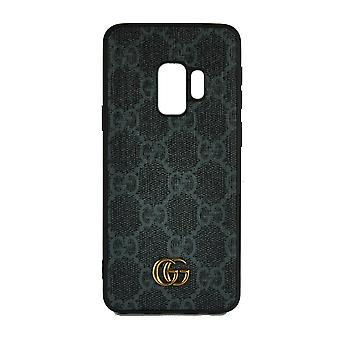 Phone Case Shockproof Cover Monogram GG For Samsung S9+ (Mix Grey)