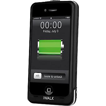 iWALK Chameleon Rechargeable Power Case for iPhone 4/4S (Black)