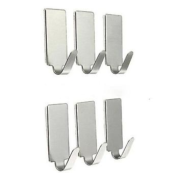 Stainless Steel Hooks For Hanging Robes, Hats, Bag, Key