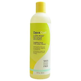 DEVA by Deva Concepts CURL LOW POO DELIGHT WEIGHTLESS WAVES MILD LATHER CLEANSER 12 OZ