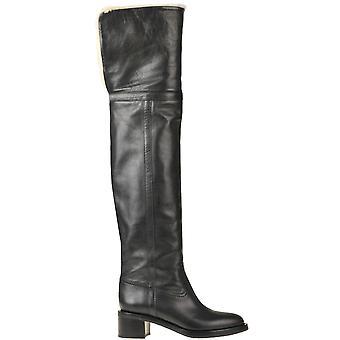 Céline Ezgl076054 Women's Black Leather Boots