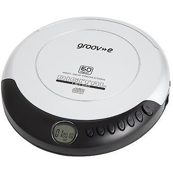Groov-e GVPS110SR Retro Series Personlig CD-spelare - Silver