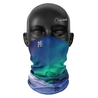 Aurora Farben Snood Gesicht Maske Schal Neckerchief Kopf abdeckung Tube wärmer Buff