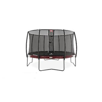 berg elite regular red 330 11ft + safety net deluxe trampoline