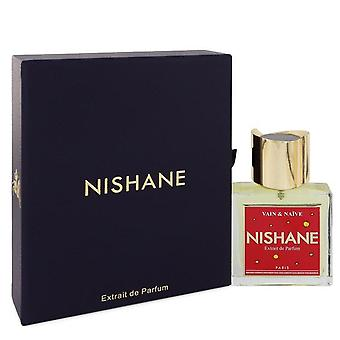 Vain & naïeve Extrait de parfum spray (unisex) door Nishane 1,7 oz Extrait de parfum spray