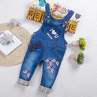 Baby Clothes Trousers, Jumpsuit, Long Pants Denim Jeans -overalls Dungarees
