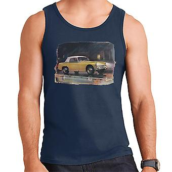 Austin Healey Yellow British Motor Heritage Men's Vest