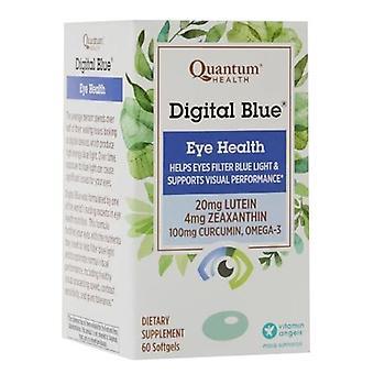Quantum Health Digital Blue Eye Health, 60 Softgels