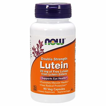 Now Foods Lutein Double Strength, 20 mg, 90 Vcaps
