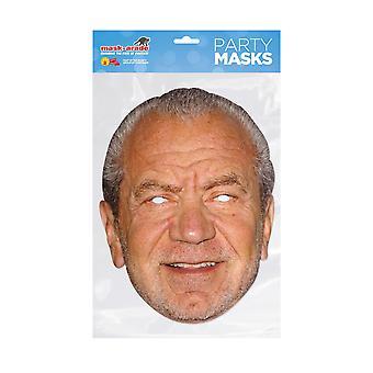 Mask-arade Alan Sugar Kändisar Party Ansiktsmask