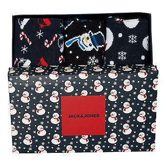 Jack & Jones Gift Box Christmas Socks - Multi