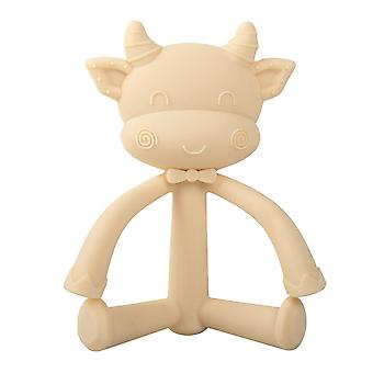 Giftfri silikon Baby Teether Leksak