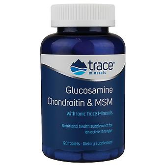 Trace Minerals Glucosamine Chondroitin & MSM 120 tablets