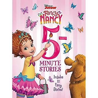 Disney Junior Fancy Nancy: Histórias de 5 minutos: Inclui 12 Histórias Chiques! (Disney Junior Fancy Nancy)