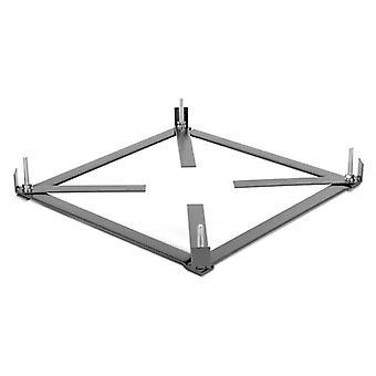 Installation base Counter frame for TR Torrette roof fan range