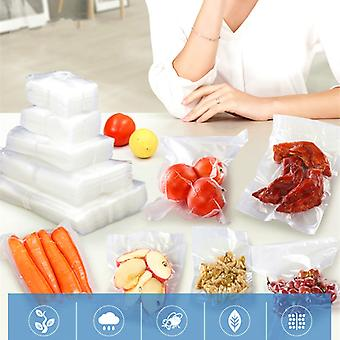 100PCS/lot Vacuum Sealer Package Bag For Vacuum Sealing Machine Food Saving Storage Bag Kitchen Food Keep Fresh Food Grade